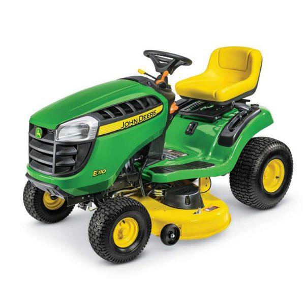 John Deere E110 Ride On Lawn Mower